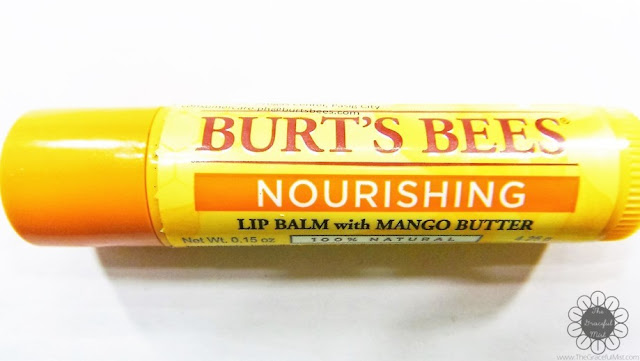 Burt`s Bees Lip Balms - Nourishing Lip Balm with Mango Butter (http://www.thegracefulmist.com/2016/10/Burts-Bees-Philippines-Natural-Lip-Balms-Products-Reviews-SampleRoomPh.html)