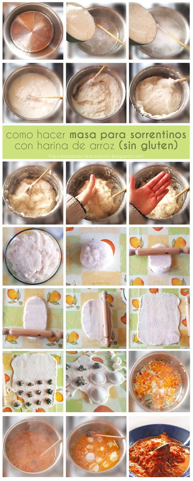 sorrentinos sin gluten foto-tutorial