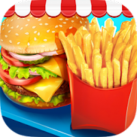 Image Game Street Food Stand Cooking Apk