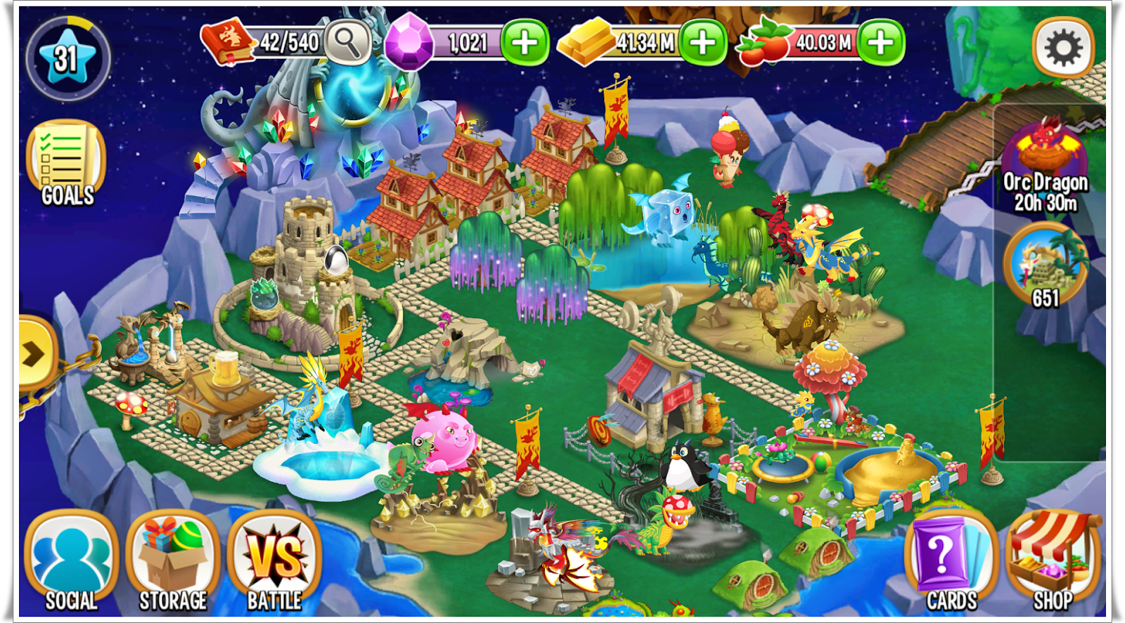 Dragon City v4 14 Mod Apk [Unlimited Money] - Androidiapa