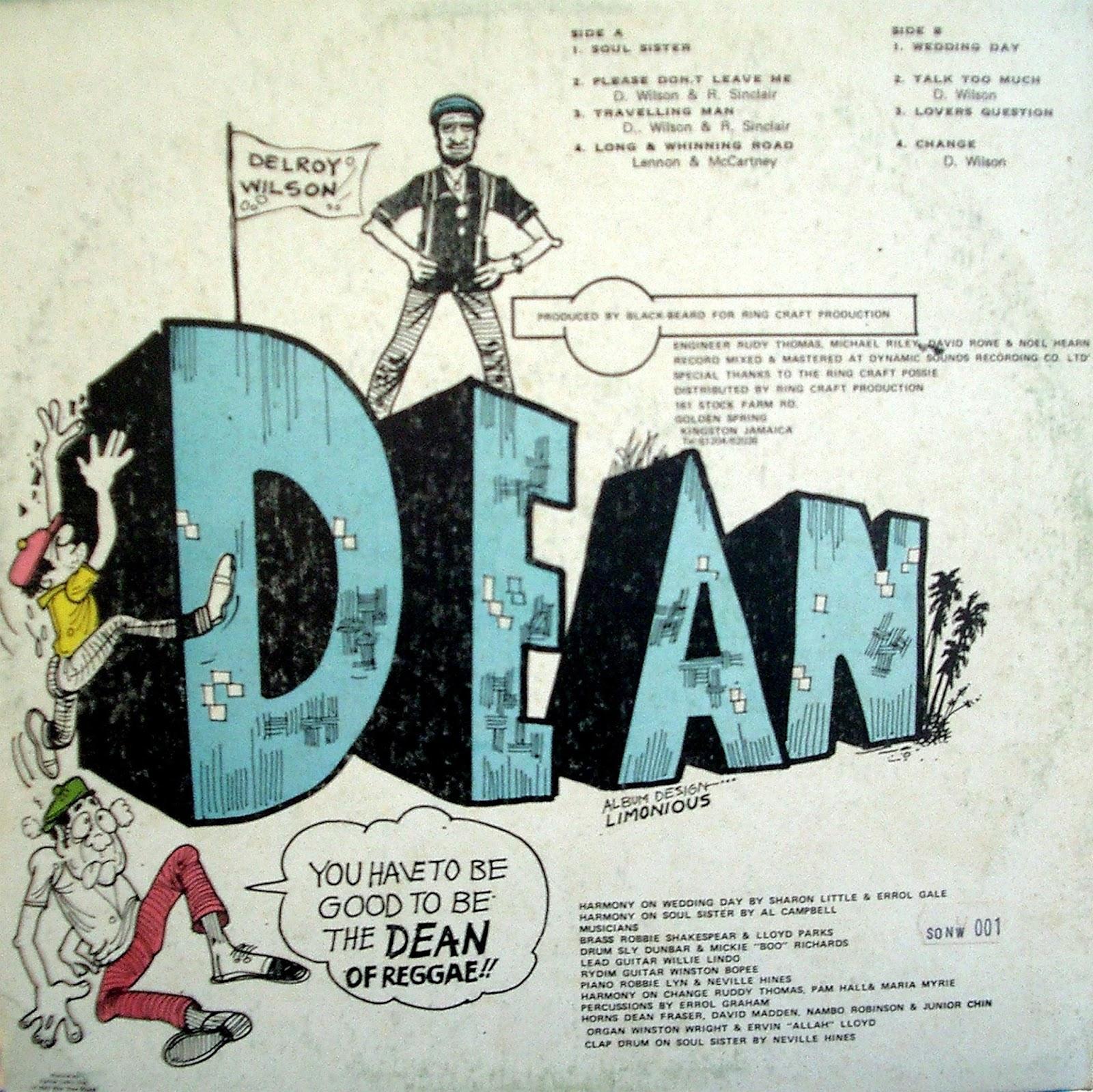 ROOTSBLOGSPOT COM: Delroy Wilson- The Dean of Reggae (1985)-Lp