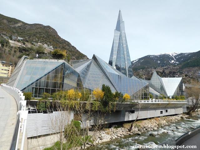 Андорра-ла-Велья - Caldea, самый большой спа-центр в Европе