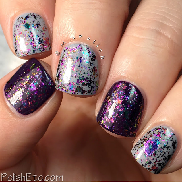 Glitter Daze - Flora Noxia Collection - McPolish - Belladonna