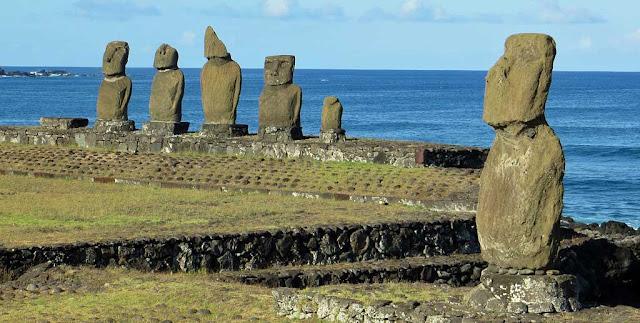 Tahai na Ilha de Páscoa, Chile