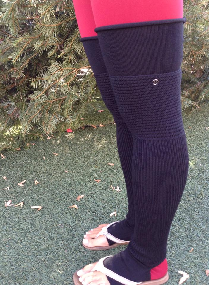 lululemon leg warmer