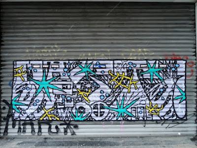 graffiti, art urbain et bibliotheque