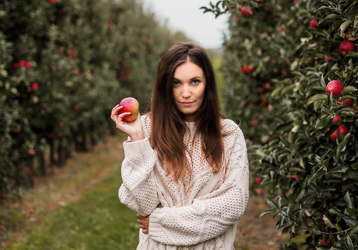 sad polskie jablka