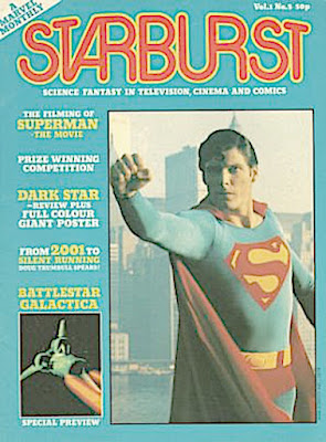 Starburst Magazine #5, Superman