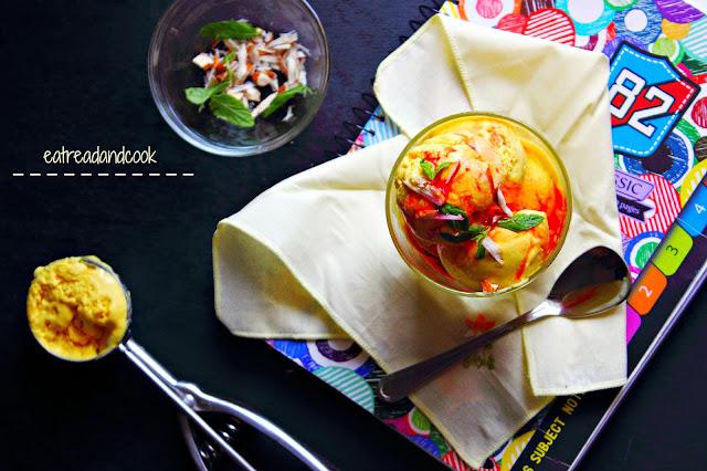 how to make no cook Mango Ice-Cream
