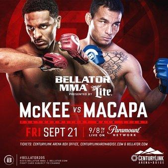 "Bellator 205 Results : A.J. McKee vs. John ""Macapa"" Teixeira"