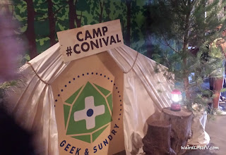 Geek and Sundry's tent