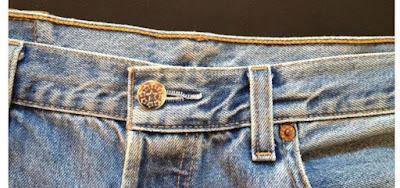 Cara Memasangi Kancing Jeans yang Lepas