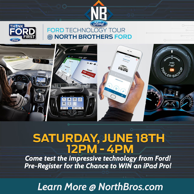 Ford Technology Tour at North Brothers Ford in Westland, MI
