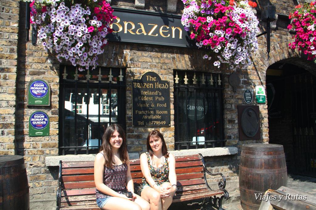 Brazen Head pub, Dublin