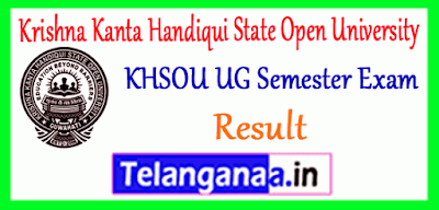 Krishna Kanta Handiqui State Open University UG 2nd 4th 6th Semester Result