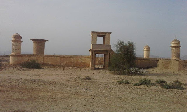 Barozai graveyard