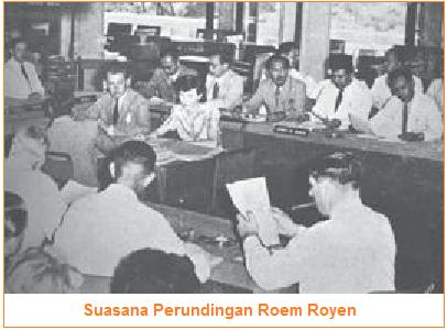 Isi Persetujuan dan Kesepakatan Perjanjian Roem-Royen