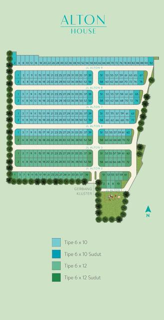 Siteplan Alton House Millennium City