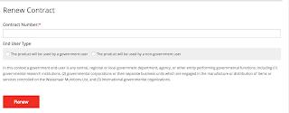 Fortigate lisans yenileme web sitesi