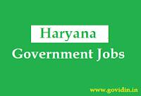हरियाणा सरकारी नौकरी   Latest Haryana Govt Jobs 2018   Govt Job in Haryana