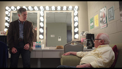 The Last Laugh 2019 Netflix movie Chris Parnell Richard Dreyfuss talking in dressing room