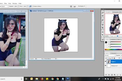 Cara Cut Gambar dan Modifikasi di Software Adobbe Photoshop