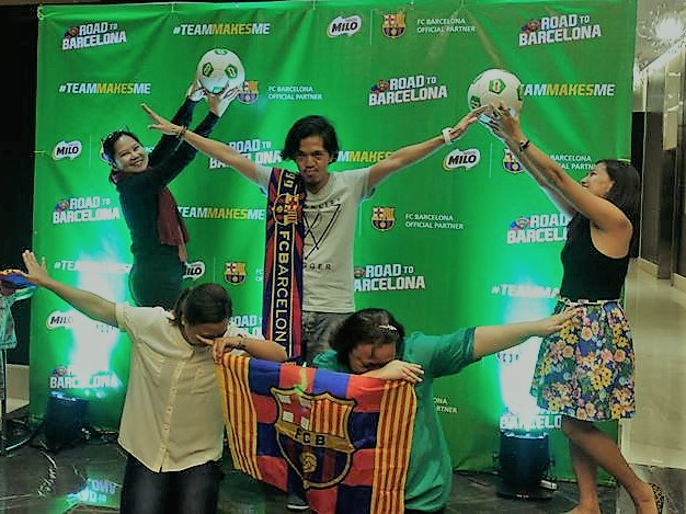 Philippines and FC Barcelona Kick Off 4-year Partnership to Build Future Champions