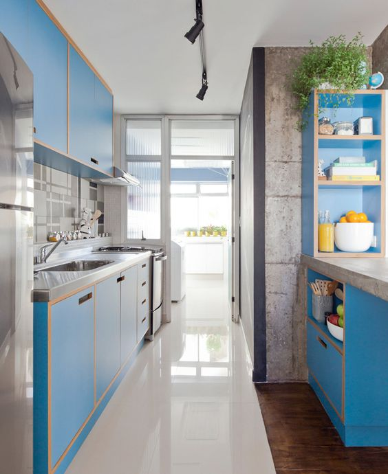 Small Narrow Kitchen Designs: 25 Best Long Narrow Kitchen Ideas For Your Tiny Space