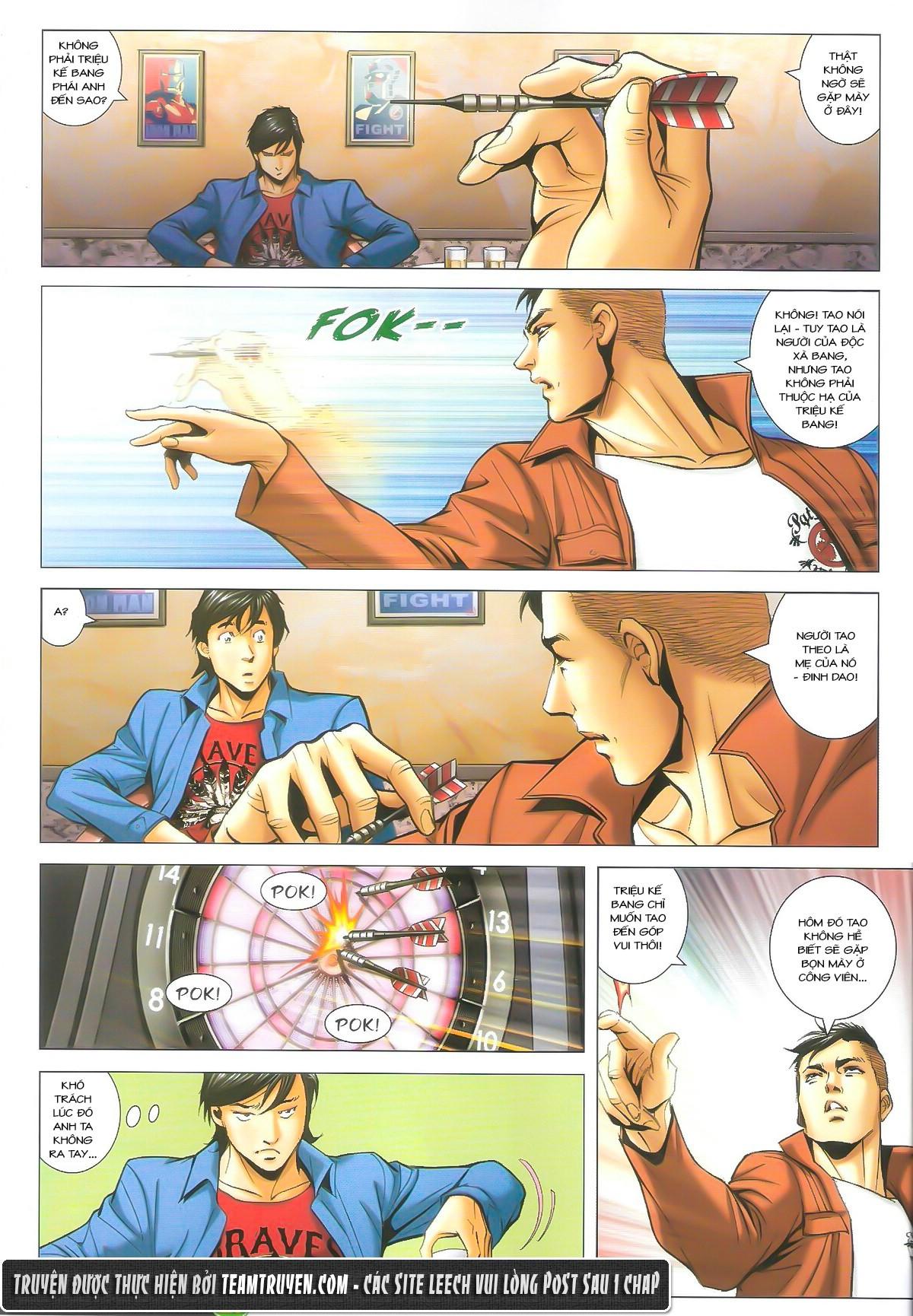 Người Trong Giang Hồ chapter 1610: a khắc giá lâm trang 18