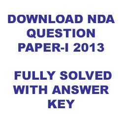 Download NDA / NA Question Paper 2013 with Complete Solution