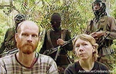 Misioneros cristianos secuestrados en Filipinas