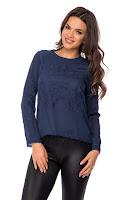 Bluza Lavy Bleumarin • Bluze si Camasi