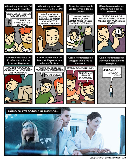 Humor Geek: Percepción Tecnológica