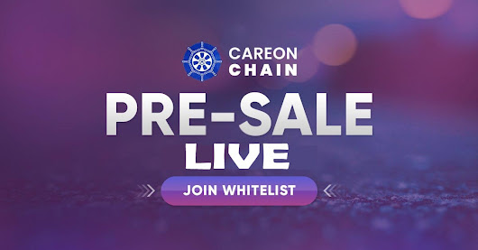 HURRY UP CAREONCHAIN PRE-SALE IS LIVE