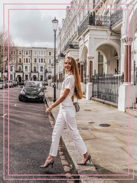 Topshop White Denim Boiler Suit