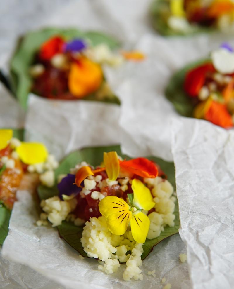 Valio luomu, sadonkorjuujuhla, syötävät kukat