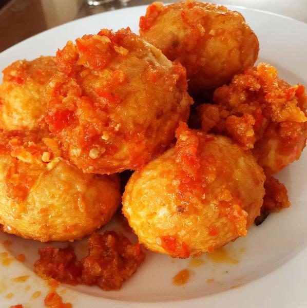 Resep Masakan Untuk Sahur Mudah dan Cepat, Telur Balado Sambal Tomat Spesial