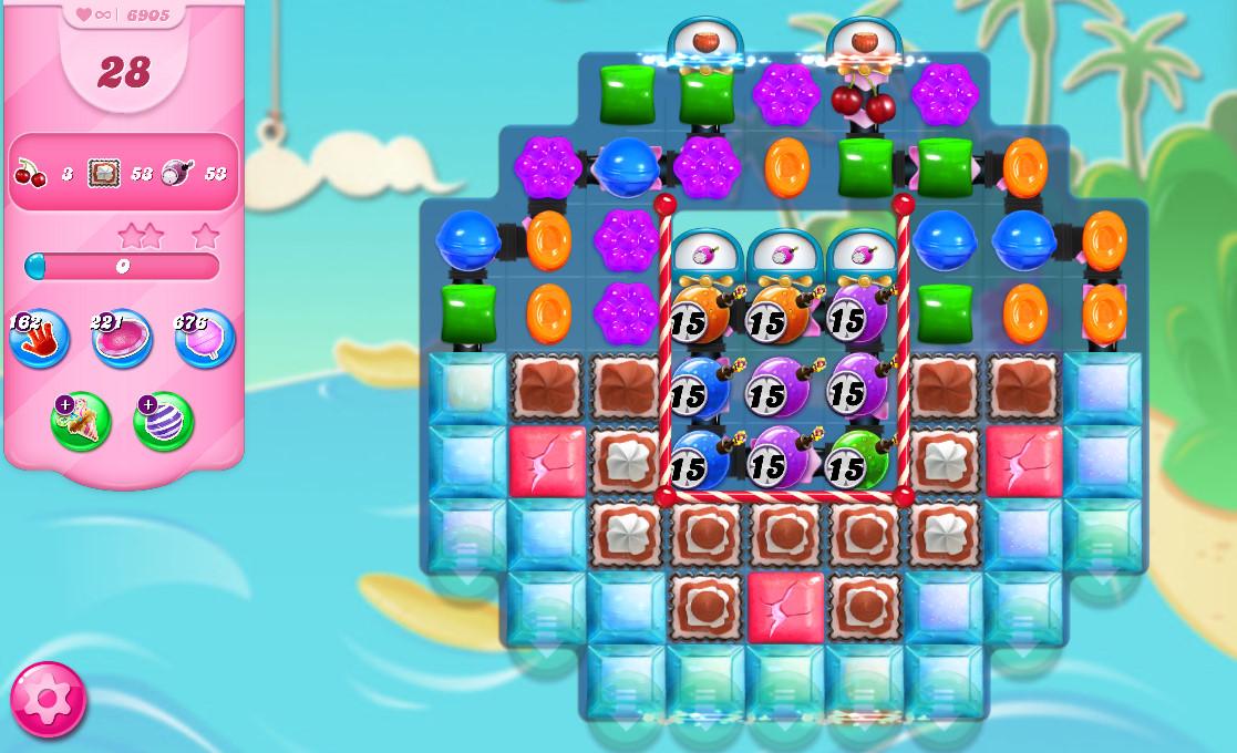 Candy Crush Saga level 6905