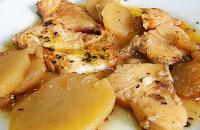 рыба тушеная с картофелем рецепт