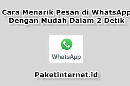 √ Cara Menarik Pesan di WhatsApp Dengan Mudah dalam 2 Detik