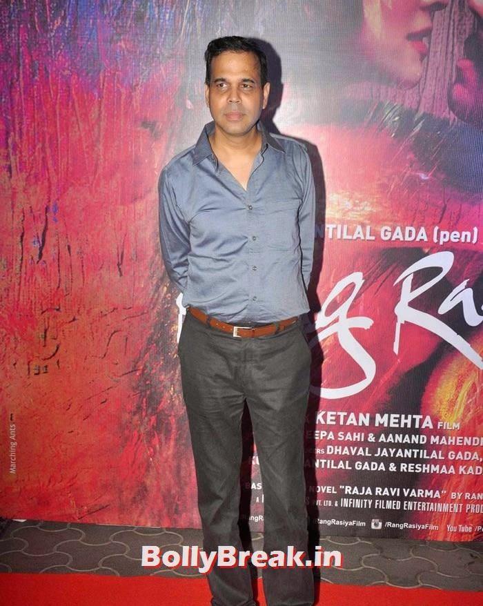Sandesh Shandilya, Photos from 'Rang Rasiya' Premier