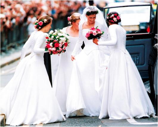 lady sarah chatto wedding dress