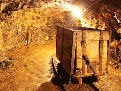 Juegos de Escape Underground Mining Tunnel Escape Solucion