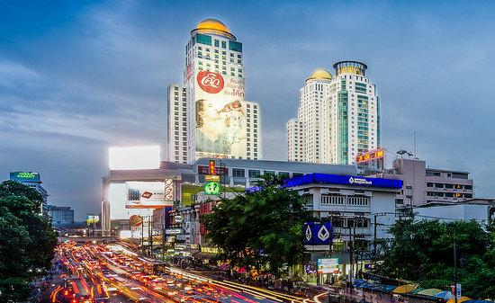Bermalam di Hotel Berkeley Pratunam di Bangkok dlm trip drp Sahajidah Hai-O Marketing