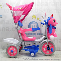 Family F993GT Unicorn Baby Tricycle