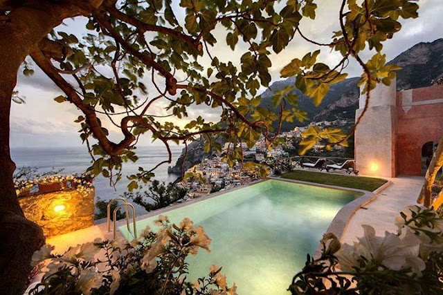 Peace and tranquility in the Villa San Giacomo, Italy
