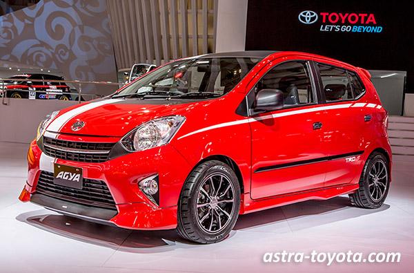 Selama 2016 Toyota Agya masih menjadi Mobil Murah LCGC Paling Laris Manis