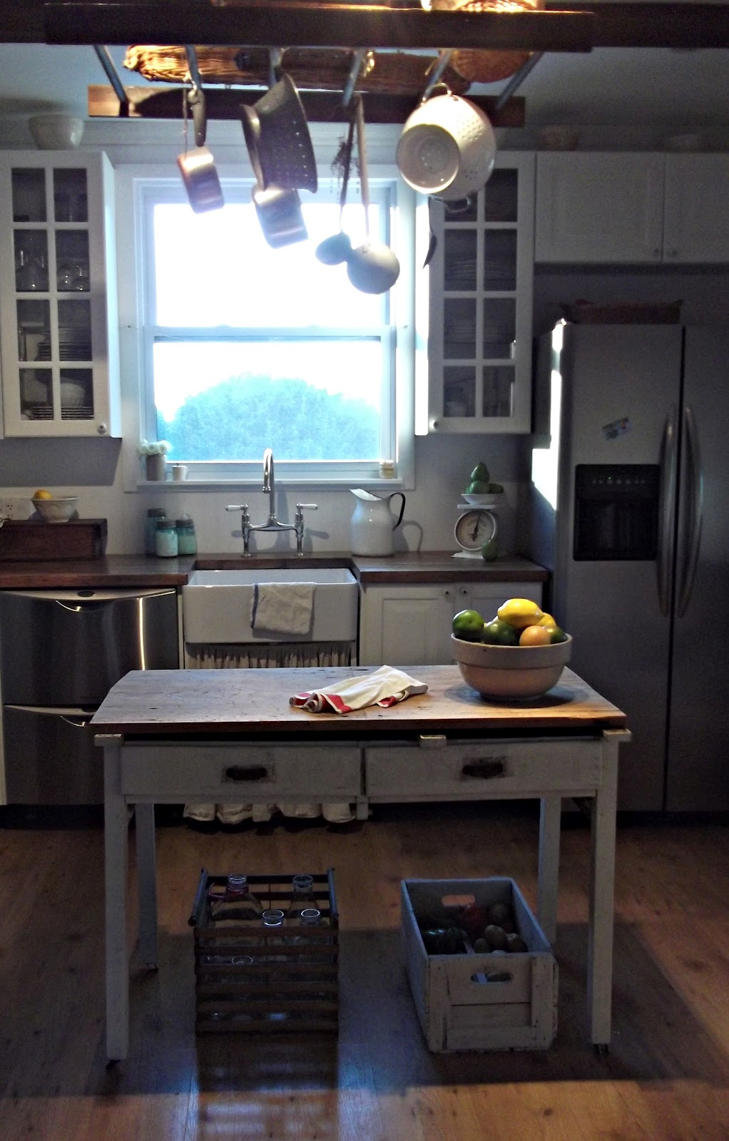 colored kitchen islands cast iron undermount sink rustic farmhouse: my farmhouse (still in the works!)