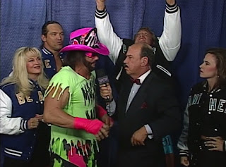 WCW The Great American Bash 1996 - Mongo McMichael, Kevin Greene and Macho Man Randy Savage were insane in this promo