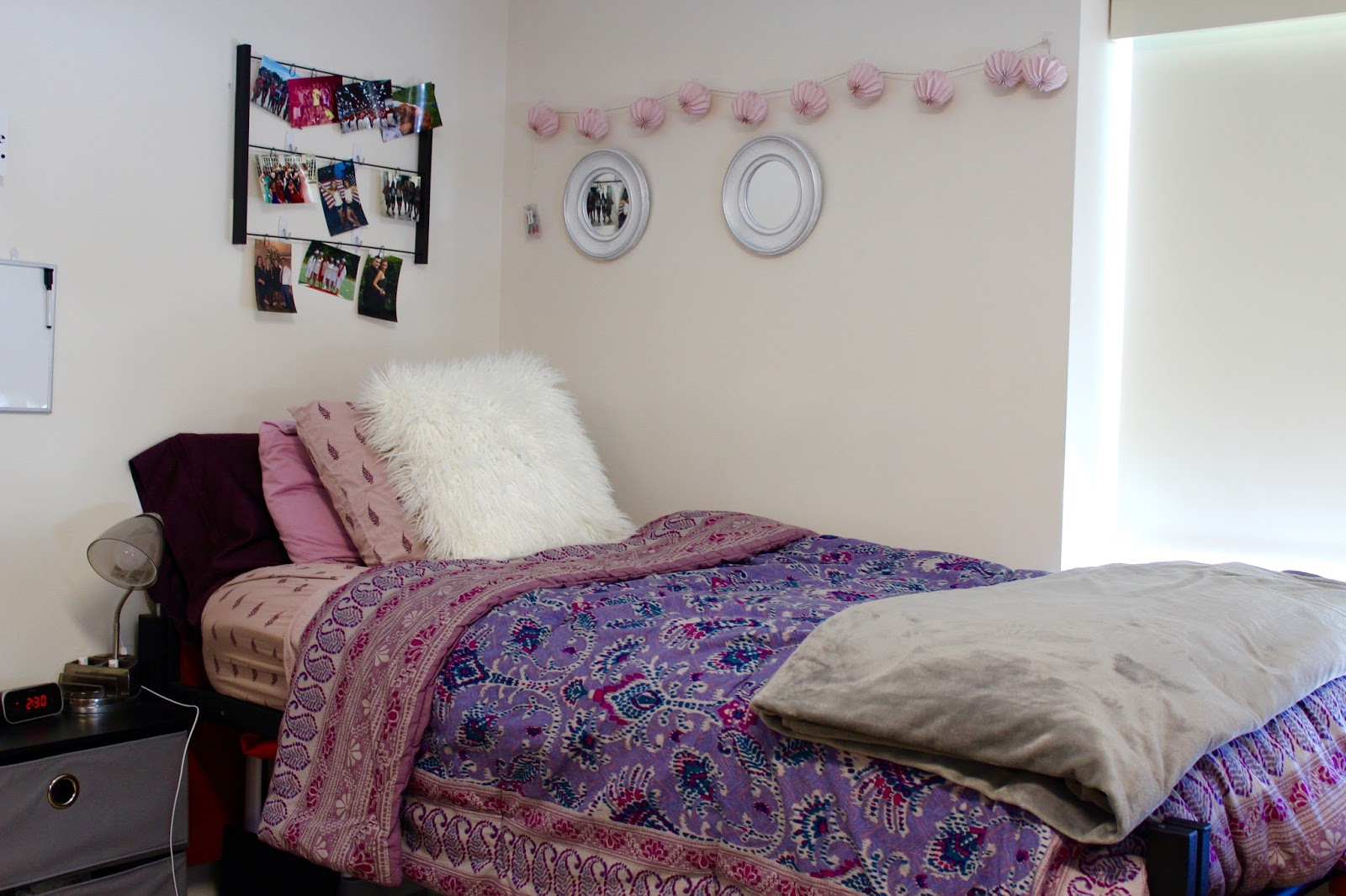 college bedroom reveal
